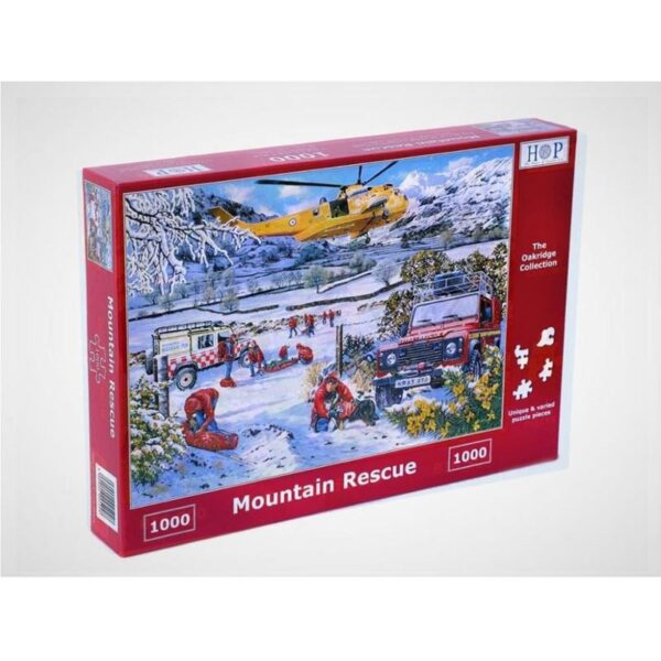 House of Puzzles Mountain Rescue 1000pc Jigsaw Puzzle