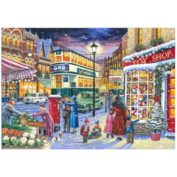 House of Puzzles No.19 - Catching the Tram 1000pc Jigsaw Puzzle image