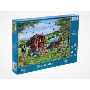 House of Puzzles Pedlar Man 1000pc Jigsaw Puzzle