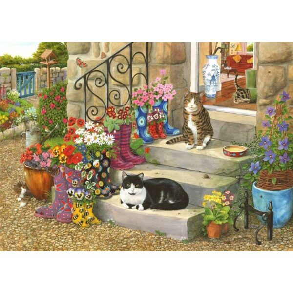 House Of Puzzles Puss 'n' Boots Jigsaw Puzzle - Big 500 Piece