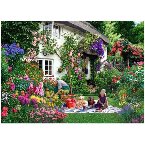 House of Puzzles Teddy Bears' Picnic Big 500pc Jigsaw Puzzle