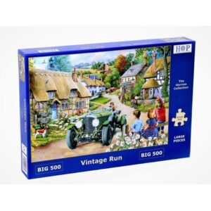 House of Puzzles Vintage Run Big 500pc Jigsaw Puzzle