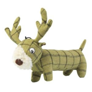 House of Stag Tweed Plush Long Stag