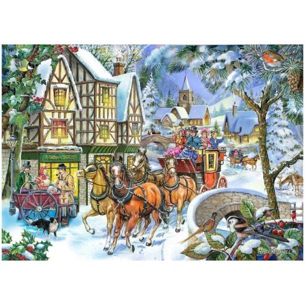 House of puzzles Snow Coach Jigsaw puzzle 500pcs Image