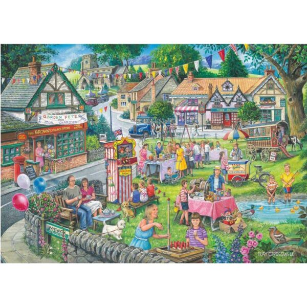 House Of Puzzles Summer Green 1000 Piece Jigsaw Puzzle