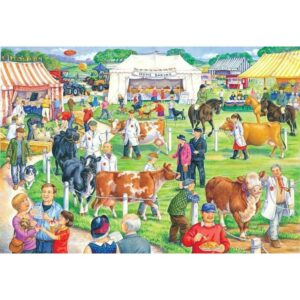 House Of Puzzles Country Show Jigsaw Puzzle - Big 500 Piece