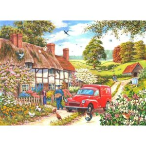 House Of Puzzles Daily Delivery Jigsaw Puzzle - Big 250 Piece