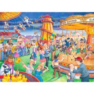 House Of Puzzles Fairground Rides Jigsaw Puzzle - Big 250 Piece