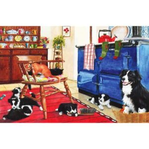 House Of Puzzles Five-a-Side Jigsaw Puzzle - Big 250 Piece