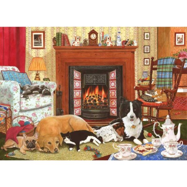 House Of Puzzles Home Comforts Jigsaw Puzzle - 1000 Piece