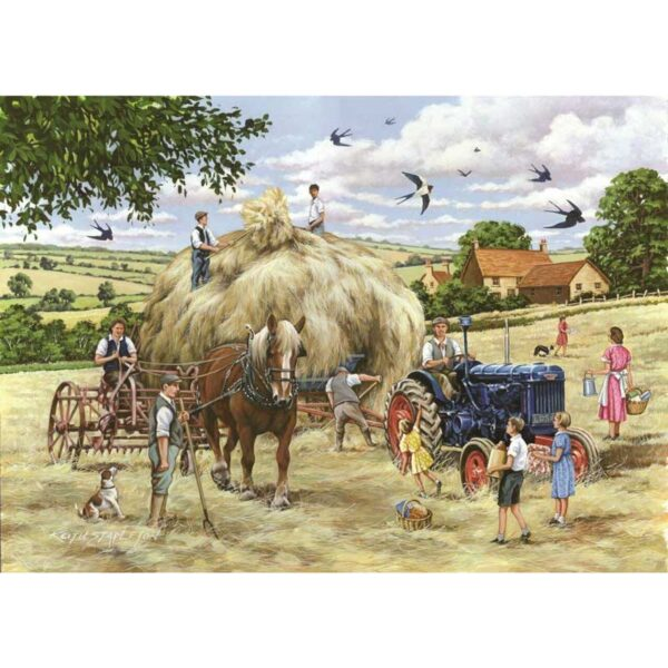 House Of Puzzles Making Hay Jigsaw Puzzle - Big 500 Piece