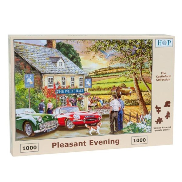 House of puzzles pleasant evening jigsaw puzzle