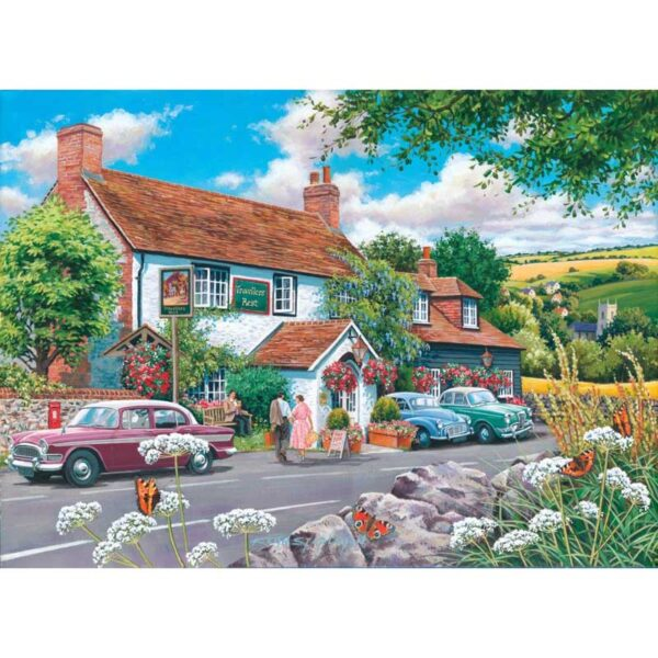 House Of Puzzles Travellers Rest Jigsaw Puzzle - Big 500 Piece