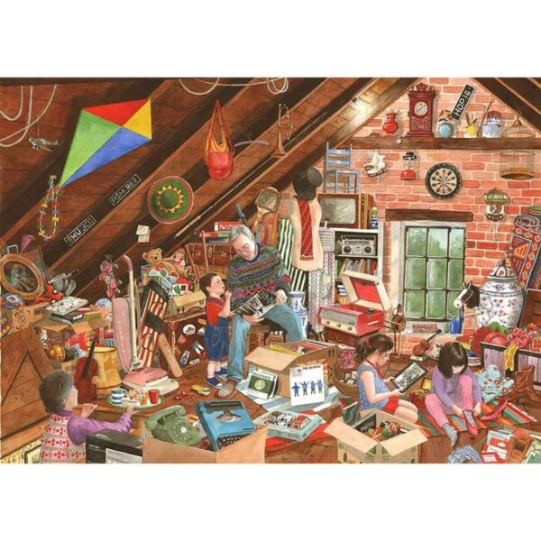 House Of Puzzles What's That Grandpa? Jigsaw Puzzle - 1000 Piece