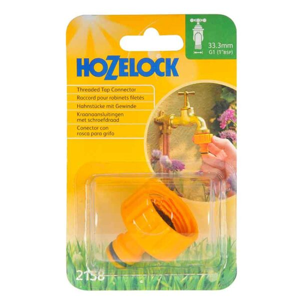 Hozelock 1 inch Outdoor Tap Connector
