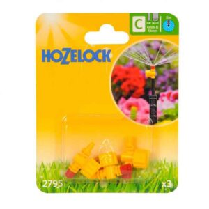 Hozelock 360 degree Adjustable Micro Jets (Pack of 3)
