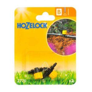 Hozelock 4mm Flow Control Valve (Pack of 2)