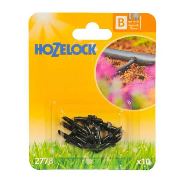 Hozelock 4mm Straight Connectors (Pack of 10)