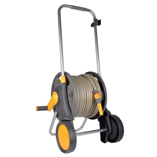 Hozelock 60m Assembled Cart with 50m hose & fittings LARGE