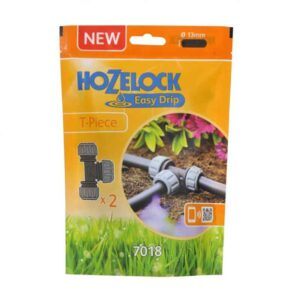 Hozelock Easy Drip 13mm T Pieces (Pack of 2)