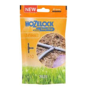 Hozelock Easy Drip 4mm T Pieces (Pack of 10)