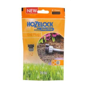 Hozelock Easy Drip End Plugs (Pack of 2)