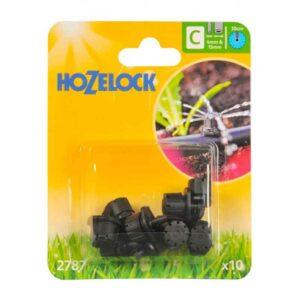 Hozelock End of Line Adjustable Mini Sprinkler (Pack of 10)