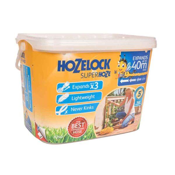 Hozelock Expanding Superhoze (40m) pack details
