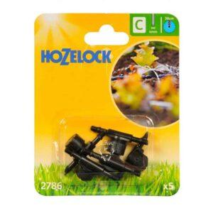 Hozelock In-Line Adjustable Mini Sprinklers (Pack of 5)