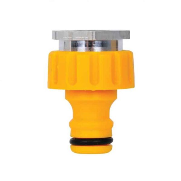 Hozelock Indoor Threaded Tap Connector close up