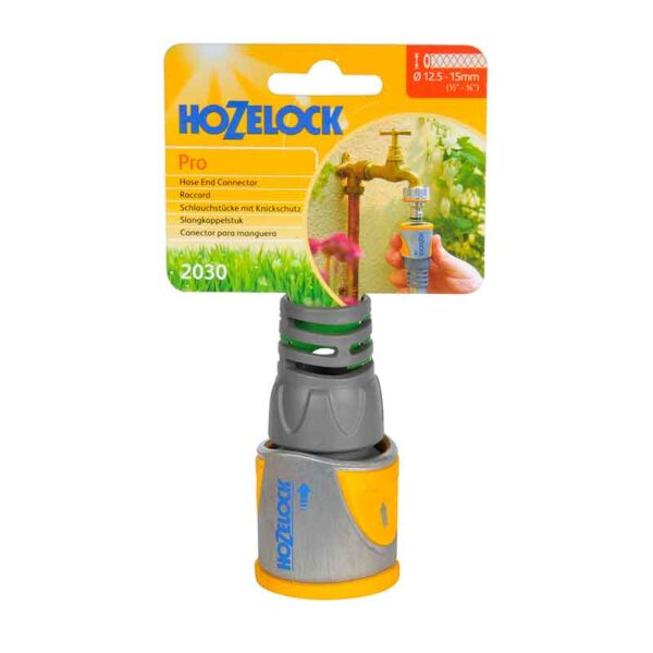 Hozelock Metal Hose End Connector Pro