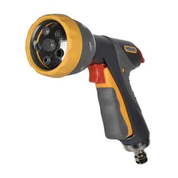 Hozelock Multi Spray Pro with 7 settings close up