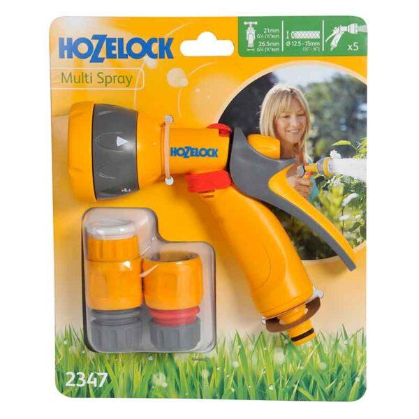 Hozelock Multi Spray Set with 5 settings