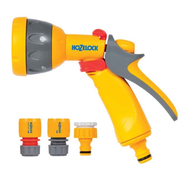 Hozelock Multi Spray Set with 5 settings pack