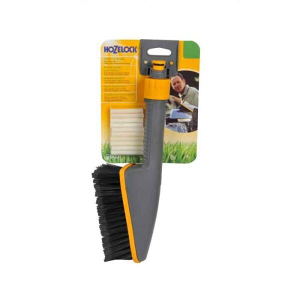 Hozelock Short Car Brush with 10 Soap Sticks