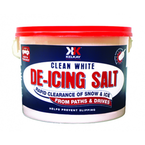 Kelkay Clean White De-icing Salt (7.5kg Tub)