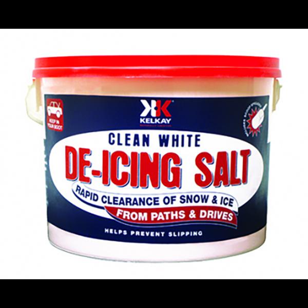 Kelkay Clean White De-icing Salt (7.5kg Tub)