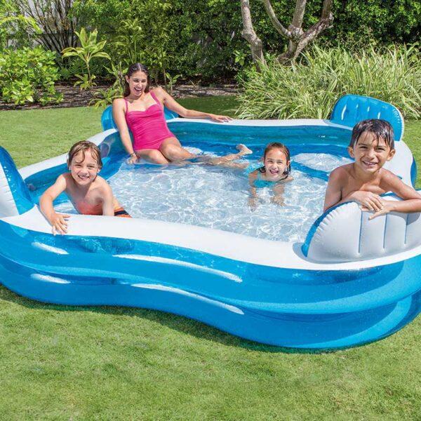 Intex Swim Centre Family Lounge Pool Lifestyle