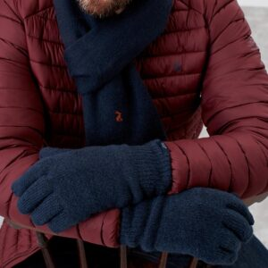 Joules Bamburgh Gloves French Navy Men's