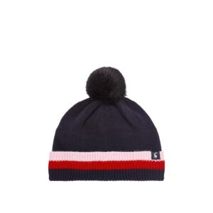 Joules Bobble Birdseye Knit Hat