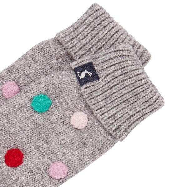 Joules Caldwell Luxe Pom Pom Mittens 2