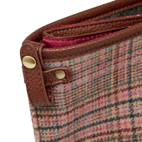 Joules Fulbrook Tote Pink Tweed 3