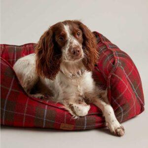 Joules Heritage Tweed Box Dog Bed