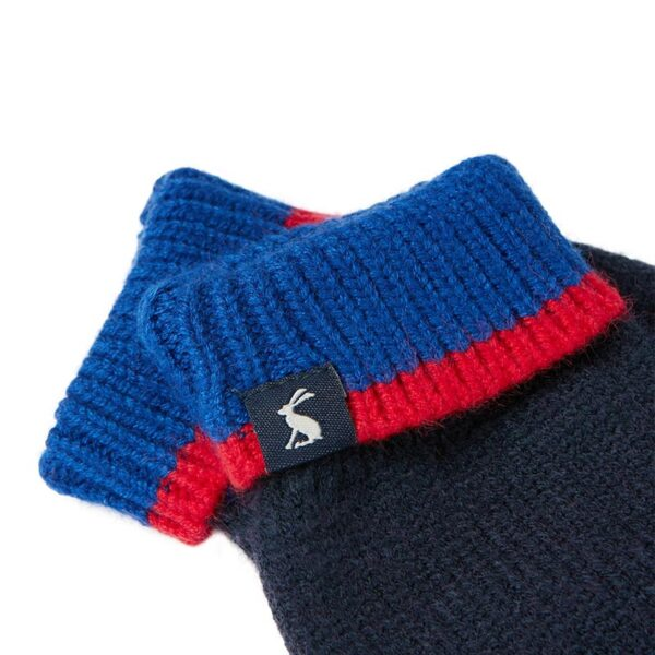 Joules Kirby Gloves -Boys French Navy 1