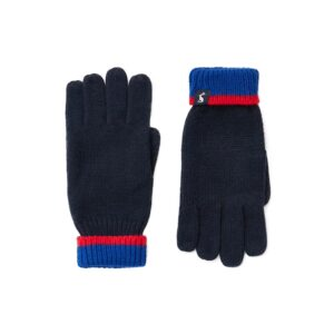 Joules Kirby Gloves -Boys French Navy