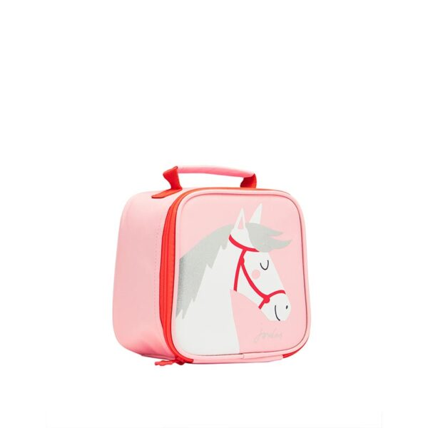 Joules Munch Lunch Bag -Pink Horse 1