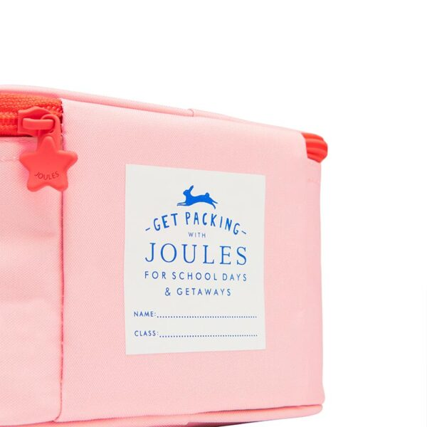 Joules Munch Lunch Bag -Pink Horse 3