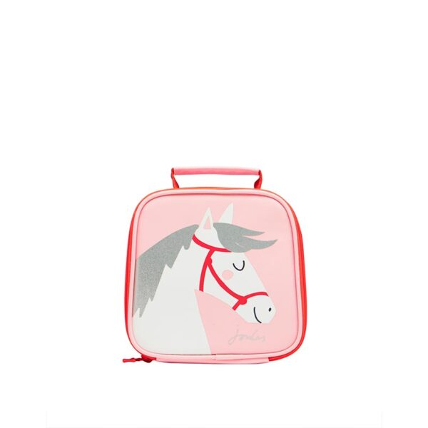 Joules Munch Lunch Bag -Pink Horse