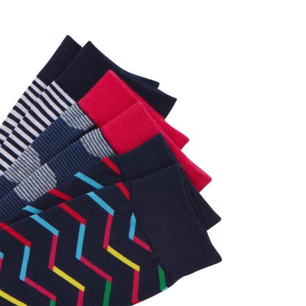 Joules Striking Multi Pack Socks - Pack of 3 2