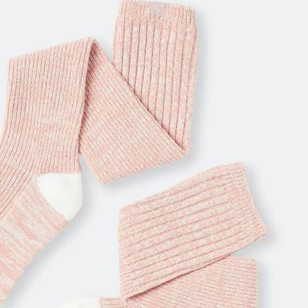 Joules Trussel Knitted Boot Sock Pink 2